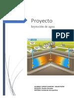 Disposicion Del Agua de Formacion Para Inyeccion en El Bloque 16 Campo Amo