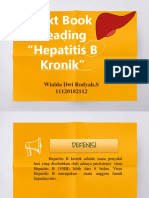 Text Book Reading Hepatitis B Kronik