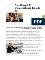 Entrevista a Eleazar Díaz Rangel