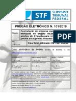 stf licitação df