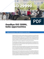 ISO 29990 Briefing Note 2018