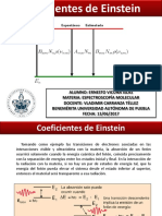 Coeficientes Einstein