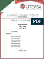 Pro - 710 - Diseño y Evaluación de Proyectos Casa de Cambio