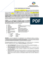 Acta de Transf Prop Imarpe