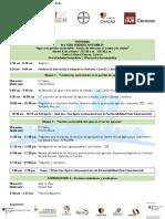 Programa 8vo Foro Ciudades Sostenibles
