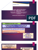 Analisis Funcional terapia cognitivo conductual