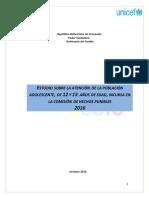 Estudio de Adolescentes Menores de 14 Anos Final 21-11-16
