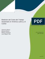 Medicion del costo laboral en latinoamerica