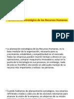 3. Planeamiento Estratégico de Los RRHH