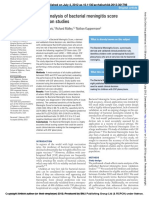 Nigrovic 2012 Meta-Analysis of Bacterial Meningitis Score Validation Studies