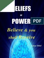 Beliefs of Power