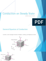 David - Conduction on Steady State