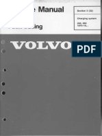 Charging System Fault Tracing _ Service Manual _ TP 30729 _ 1984 _ VOLVO®