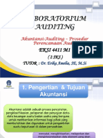 TTM- 1 (AKUNTANSI DAN AUDITING - PROSEDUR PERENCANAAN AUDIT).ppt