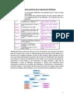 bases quimicas de la organización biológica