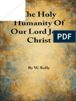 The Holy Humanity of Our Lord Jesus Christ - W. Kelly - 1295