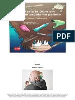 Portada Maria La Dura Un Problema Peludo_Biografia Esteban Cabezas