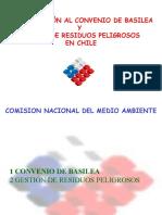 Introduccion Al Convenio de Basilea y Manejo de Residuos Peligrosos en Chile