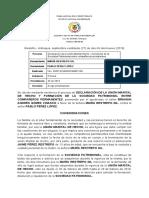 Fallo de Unión Marital de Hecho 27 - 09 - 2019