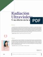 Radiacion Ultravioleta Y Su Efecto En La Salud