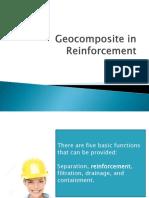 Geocomposite in Reinforcement