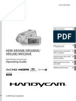 Sony HDR XR500 Video.pdf