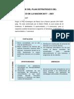 Analisis Del Plan Estrategico Del Banco de La Nacion 2017-2021-1