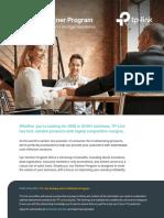 Tp Link Partner Program Flyer