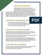 Informe Inhibidores de Corrosion UNJFSC