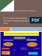Diseños en la investigación clínica I PRESENTACIÓN.pptx