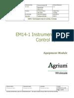 EM14-1 Instrumentation and Control Systems