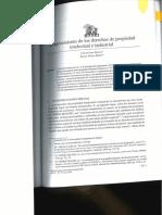 El Agotamiento de Los Derechos de Propiedad Intelectual e Industrial
