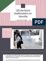 Afectaciones Ambientales en Morelia