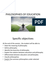 Educational Philosophies