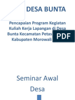 PPT Program Kerja Bunta