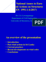 Sri Lanka National Annex Euro Code1