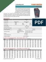 Narada Eos-600 Datasheet