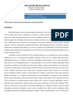 Educational LEadership and  Creative Strat in education.docx