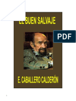 Eduardo Caballero Calderon - El Buen Salvaje