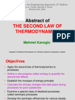 Chapter_abstract of 2nd Law of Thermodynamics