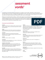 IPD Command Words 2013