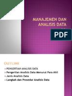 PPT Manajemen Dan Analisis Data