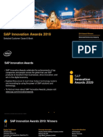 SAP Innovation Awards 2019 eBook