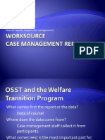 Case management report