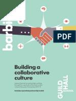 Building a collaborative culture