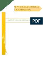 Reporte Del Analisis Cinemática y Dinámica de Mecanismos de 4 Barras