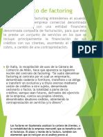 Presentacion Contratos de Factoring y