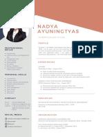 CV Nadya Ayuningtyas