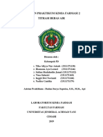 Laporan Praktikum KF Percobaan 1