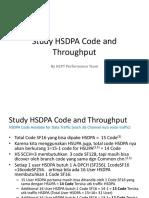Study HSDPA Code and Throughput.pptx
